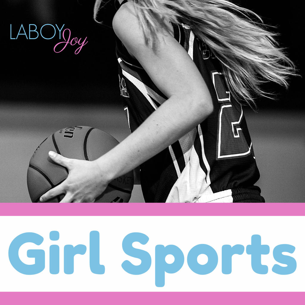 girl sports playing basketball